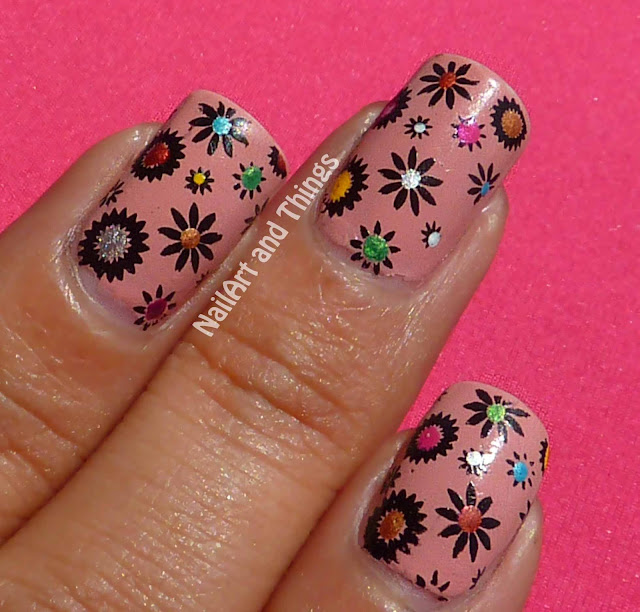 Flower Nail Art
