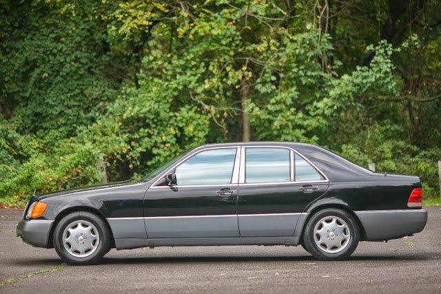 1994 mercedes w140 300sd turbodiesel