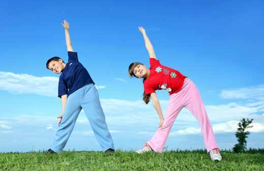 kids health and fitness