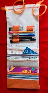 Cara Bikin Sendiri Wadah/ Pemegang Alat Tulis dari Kaos