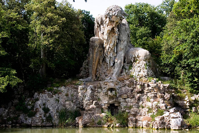 Massive 16th Century 'Colossus' Sculpture In Italy Has Entire Rooms Hidden Inside - THE MOUNTAIN GOD IS 35 FEET TALL AND STANDS IN FLORENCE, ITALY