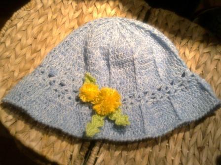 Garden Rose Tea Party Hat   Las Hats   Decorated Tea
