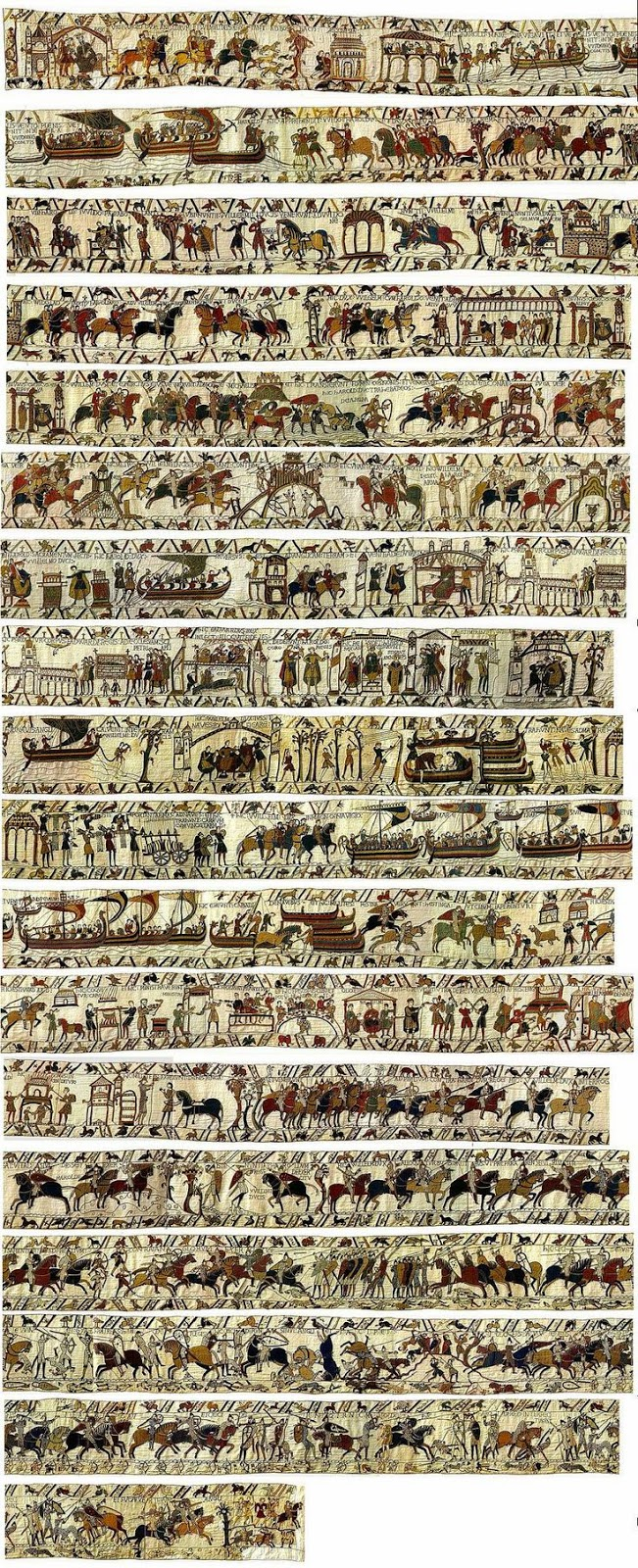 an introduction to the significance of the bayeux tapestry The norman conquest of england the bayeux tapestry has been claimed to show one of the most obvious effects of the conquest was the introduction of.