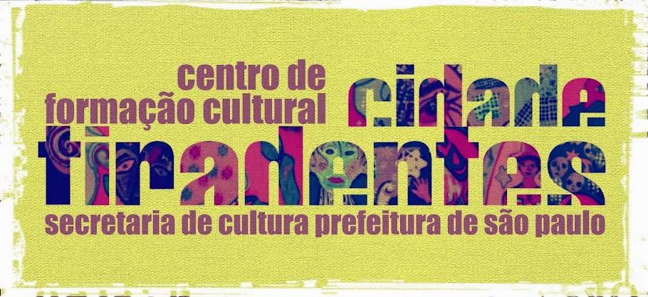 Agenda Centro de Formação Cultural Cidade Tiradentes