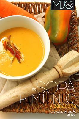 Pimientos Soup