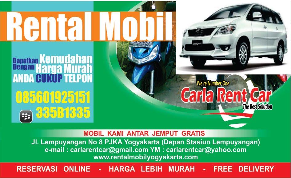 Rental Mobil Jogja 085601925151