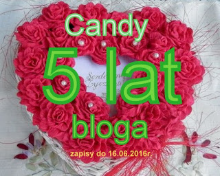 Candy 5 lat bloga