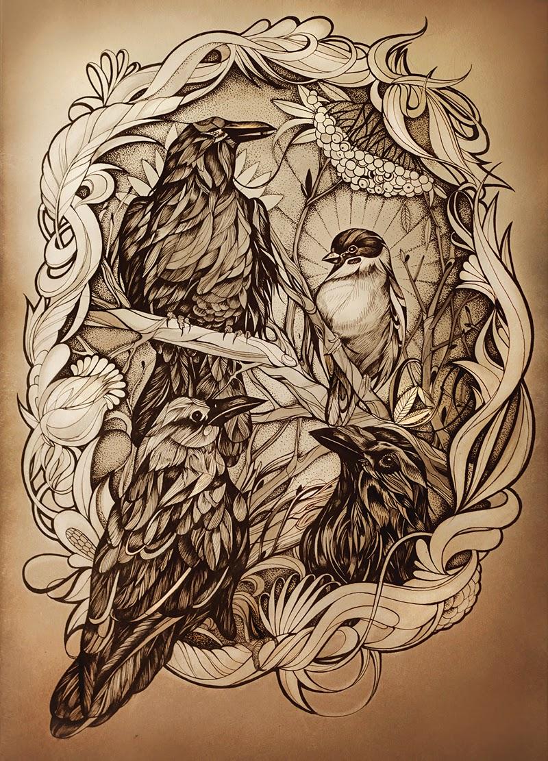 simply creative animal drawings by alice macarova