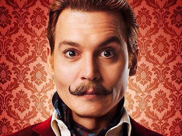 Johnny Depp and other actors on the new posters to Mortdecai