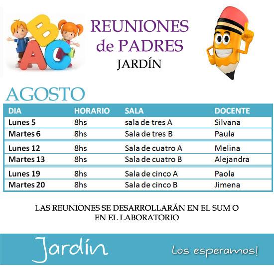 Instituto santo domingo cronograma de reuniones de jardin for Cronograma jardin infantil 2015