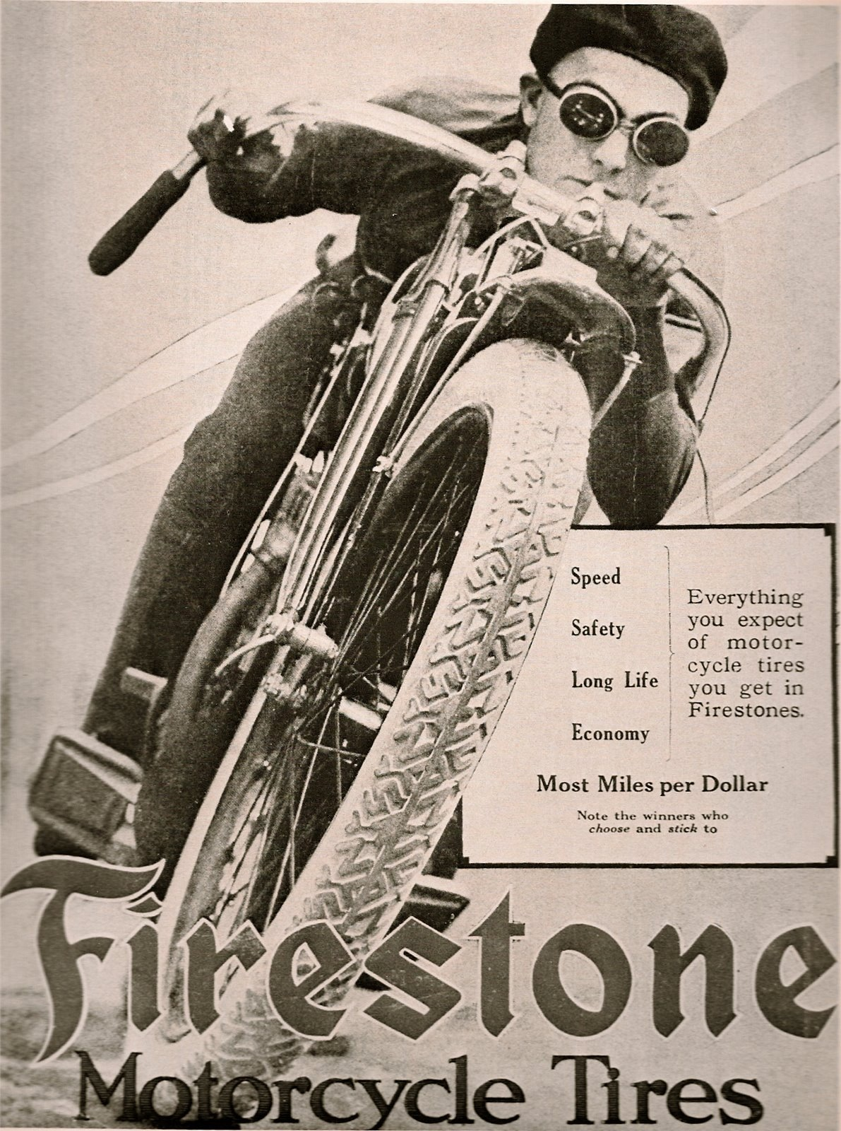 vintage motorcycle advertising
