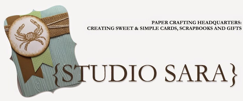Sara Smeby | Stampin' Up! Demo | Studio-Sara | Sweet and Simple {Ideas and Resources}