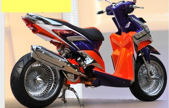 modifikasi motor vario 125 title=