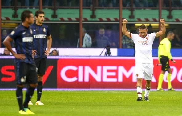 AS Roma vs Inter Milan Serie A Italian