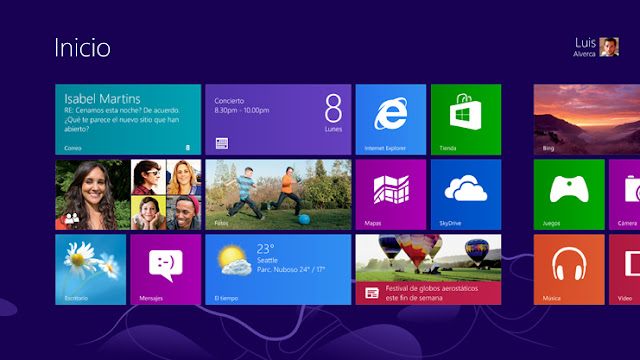 Windows 8 personaliza la pantalla inicio