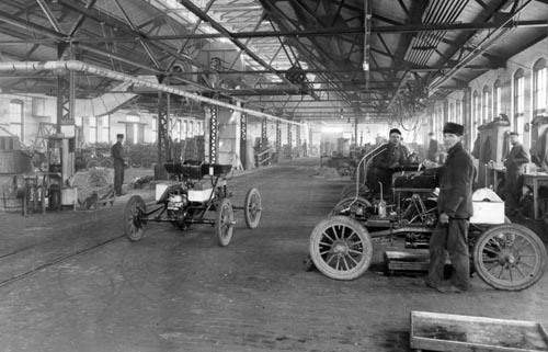 The automobile and american life historically important for General motors assembly line job description