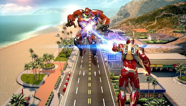 Download Game Android Terbaru Iron Man 3 Gratis