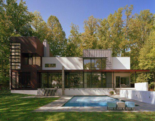 Maison de vacance USA. | L\'Architecture