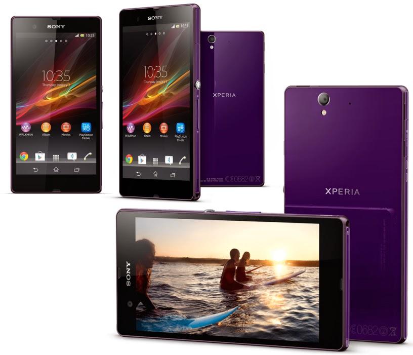 Sony Xperia Z3 Purple, Spesifikasi HP Terbaru Sony Harga 9 Juta