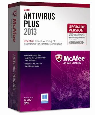 برنامج مكافي انتي فيروس 2013 Download McAfee AntiVirus