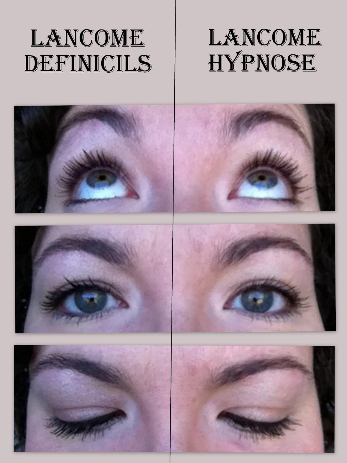 Bluntly Reviewed: Lancome Definicils vs Lancome Hypnose Mascara ...