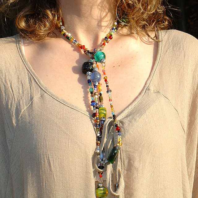 Necklace. Túnica oversize-Oversized tunic. Visit www.forarealwoman.com  #moda #fashion #blogger