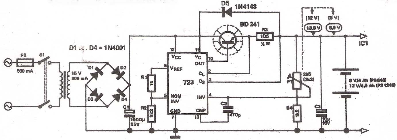 kB · jpeg, Gambar-Skema-Rangkaian-Power-Supply-6-Volt-Dan-12-Volt.jpg