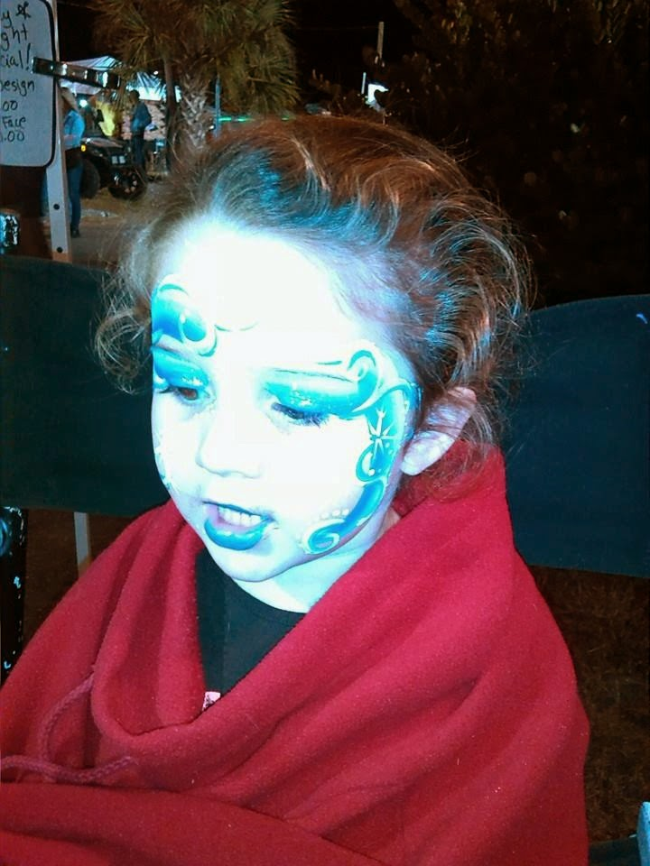 Frozen Face Painting Tampa Bay Florida