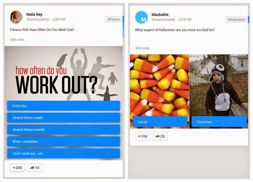 Google +'da nasıl anket oluşturulur?