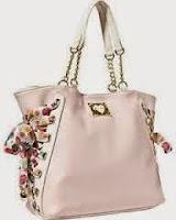 Pink Floral Print Purses