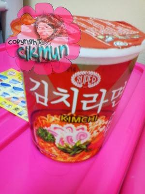 kimchi, ramen, sedap, korea, makanan, mee segera, megi,