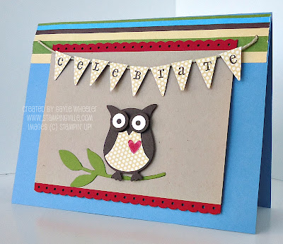 Two-Step Owl Punch by Stampin' Up!