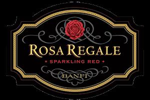 label of Banfi Rosa Regale wine