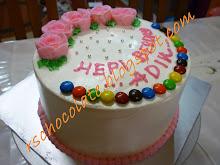 Rainbow Cake Buttercream - RM 60.00