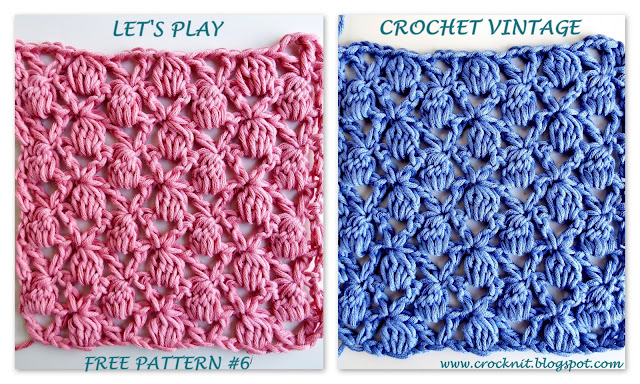 Crochet Stitch Rtrf : free crochet patterns, clusters, v-stitches, how to crochet,