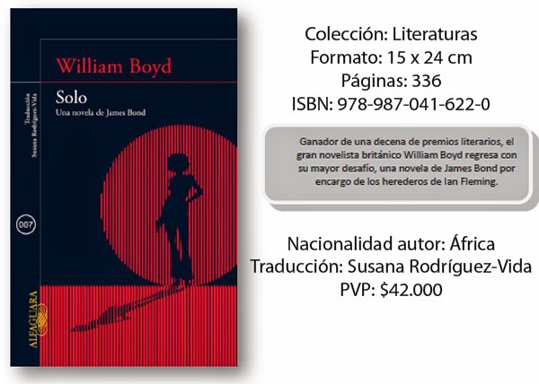 William-Boyd-SOLO-nueva-novela-James-Bond-2014