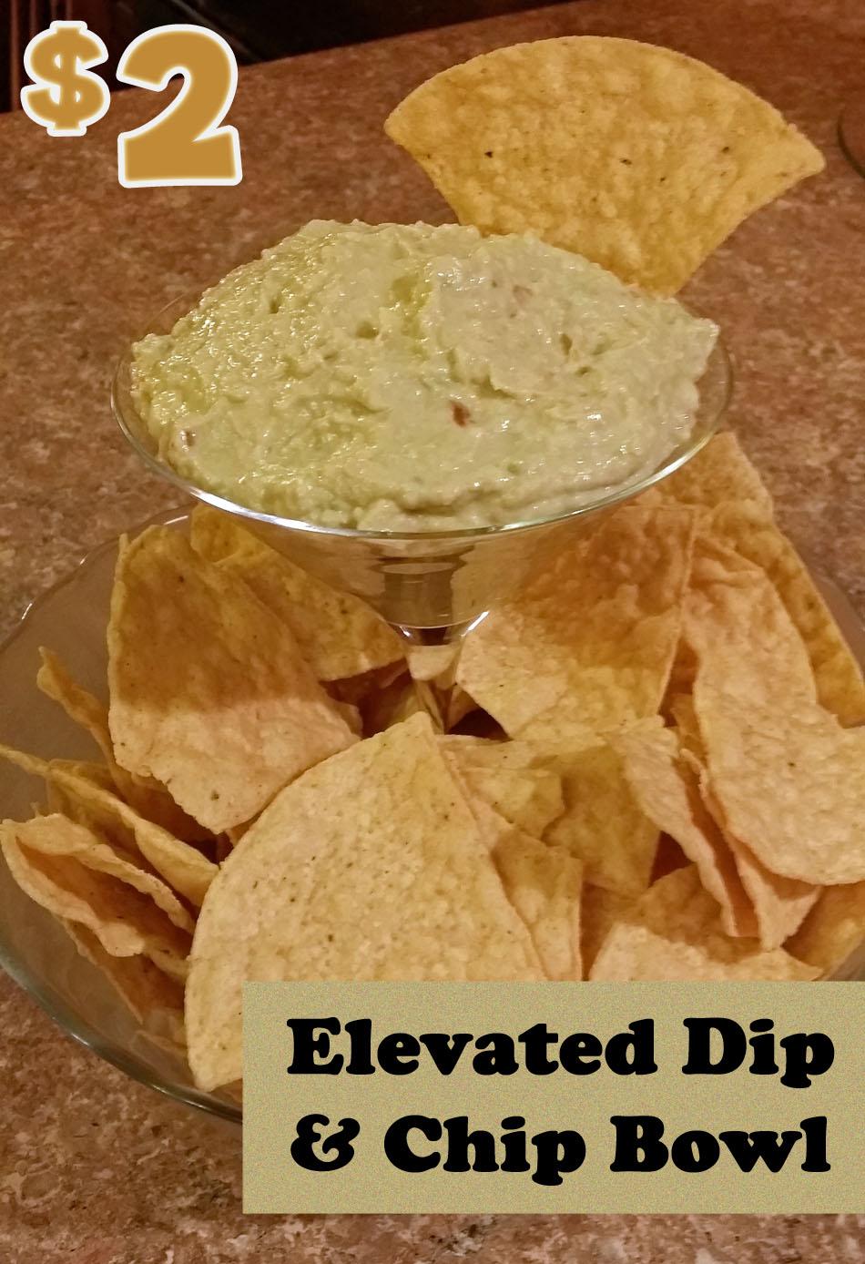 DIY Elevated Dip & Chip Bowl $2