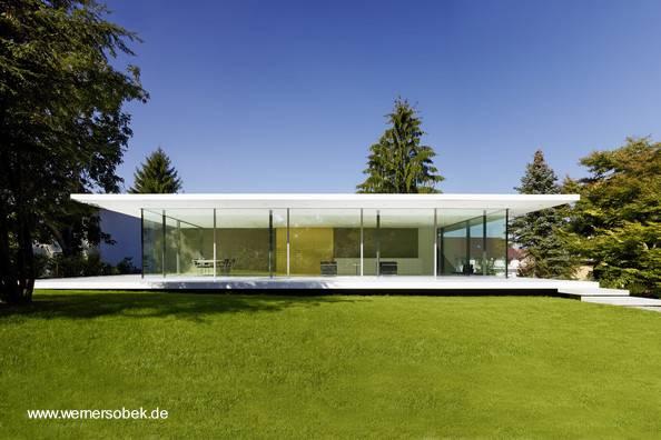 Arquitectura de casas residencia alemana minimalista for Casas de campo modernas minimalistas