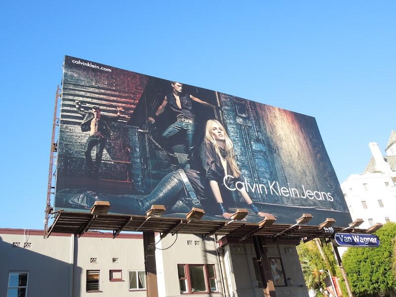 Calvin Klein Jeans F/W 2012 billboard