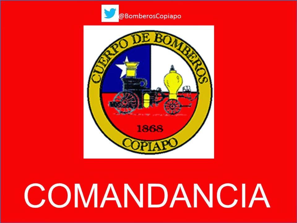 CUERPO DE BOMBEROS DE COPIAPO COMANDANCIA