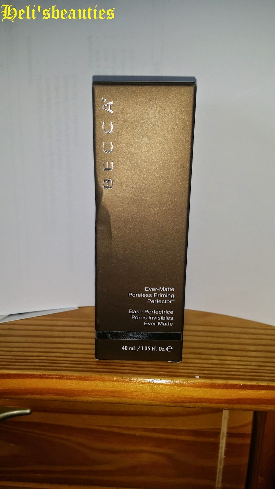 becca ever matte primer how to use