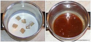 preparare glazura caramel pentru ornat torturi si prajituri, glazura, glazura caramel, cum se face glazura pentru tort, retete culinare,