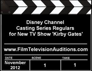 Disney Channel Casting Call Kirby Gates