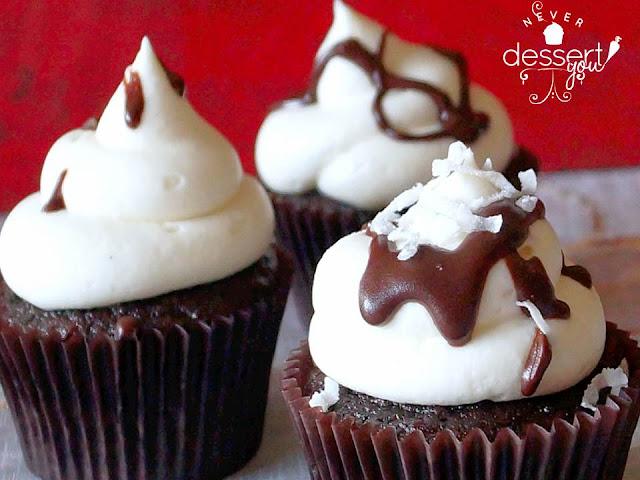 Cocoa Colada Cupcakes