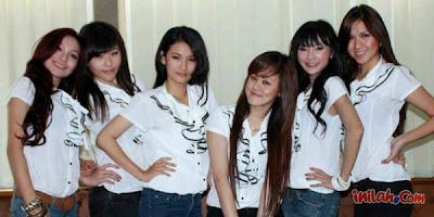 Profil 6 Starz - Nama Foto Personel 6 Stars Girlband Indonesia
