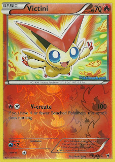 Victini #15/101 Noble Victories Pokemon Card