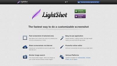 LightShot, Screen Capture