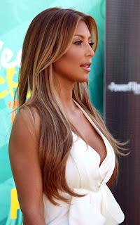 Kim Kardashian Tan