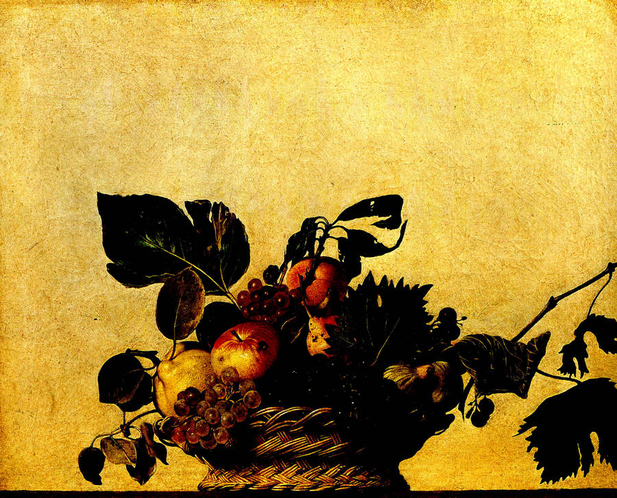 caravage fruits painting