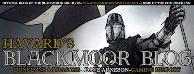 Havards Blackmoor Blog